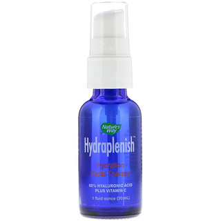 Nature's Way, Hydraplenish, Sodium Hyaluronate Serum, Plus Vitamin C, 1 fl oz (30 ml)