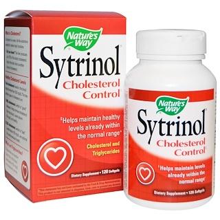 Nature's Way, Sytrinol, Cholesterol Control, 120 Softgels