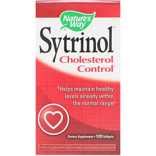 Nature's Way, Sytrinol, Cholesterol Control, 120 Softgels