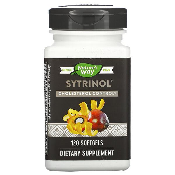 Nature's Way, Sytrinol, Cholesterol Control, 120 Softgels (Discontinued Item)