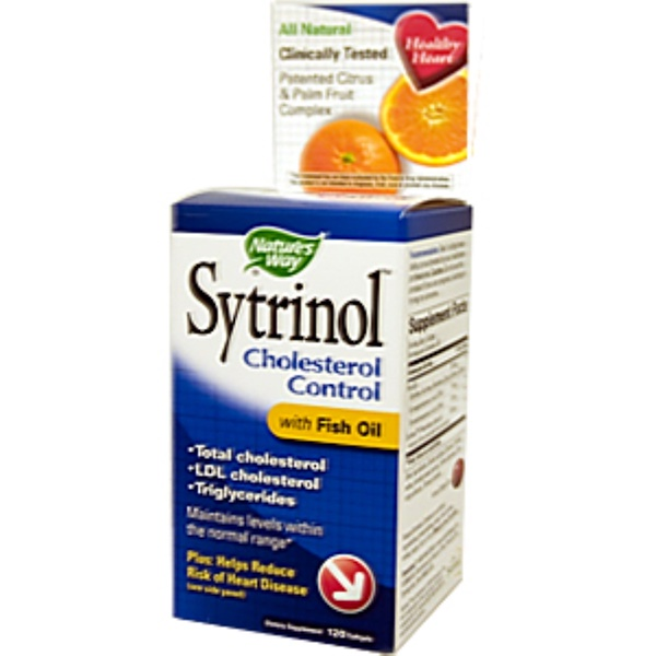 Nature's Way, Sytrinol, Cholesterol Control with Fish Oil, 120 Softgels (Discontinued Item)