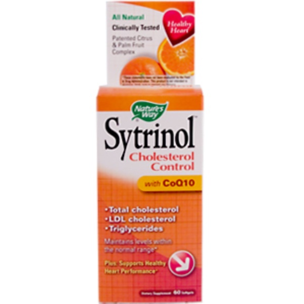 Nature's Way, Sytrinol Cholesterol Control with CoQ10, 60 Softgels (Discontinued Item)