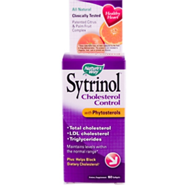 Nature's Way, Sytrinol, Cholesterol Control, with Phytosterols, 60 Softgels (Discontinued Item)