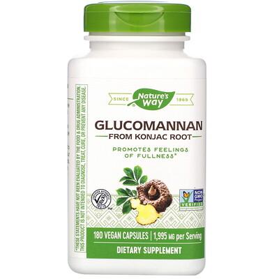 Glucomannan from Konjac Root, 1,995 mg, 180 Vegan Capsules glucomannan maximum strength 2 000 mg 90 capsules