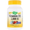 Nature's Way, Vitamin D3, 2,000 IU, 240 Softgels