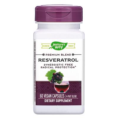 Купить Resveratrol, 60 Vegan Capsules