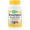 Nature's Way, Resveratrol, 37.5 mg, 60 Vegetarian Capsules
