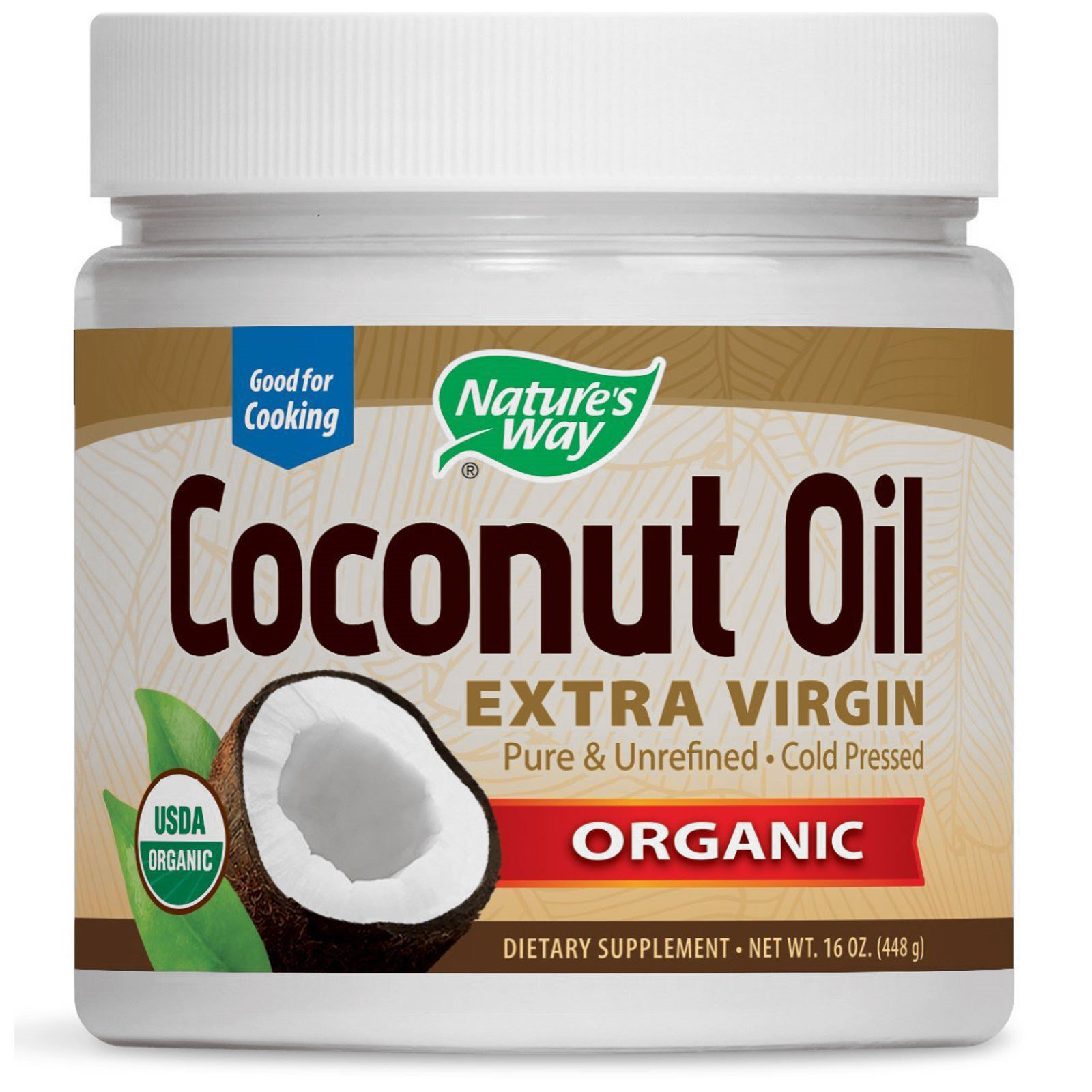 Nature S Way Anic Coconut Oil Extra Virgin