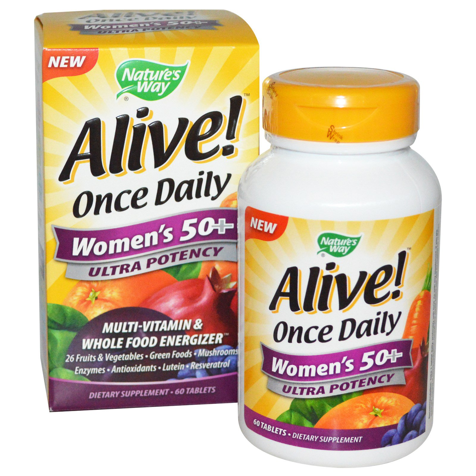 Nature S Way Alive Once Daily Women S Tablets  Tablets