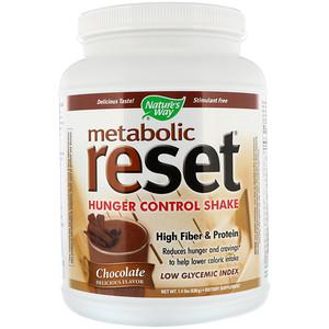 Натурес Вэй, Metabolic Reset Hunger Control Shake, Chocolate, 1.4 lbs (630 g) отзывы покупателей