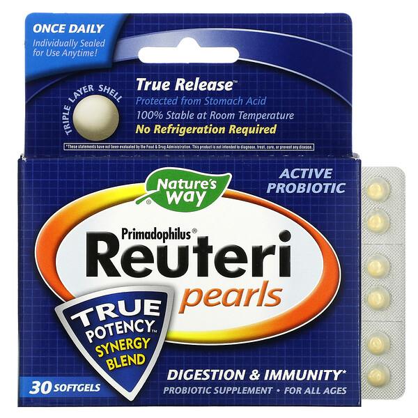 Primadophilus Reuteri Pearls, 30 Softgels