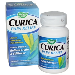 Натурес Вэй, Curica, Pain Relief, 100 Tablets отзывы