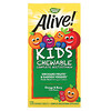 Nature's Way, Alive! Children's Chewable Multi-Vitamin, Orange + Berry Fruit, 120 Chewable Tablets