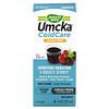Nature's Way, Jarabe Umcka Cuidado del Resfrío, calmante, sin azúcar, sabor a uva, 4 oz (120 ml)