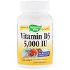 Nature's Way, Vitamin D3, 5000 IU, 240 Softgels