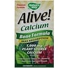 Nature's Way, Alive! Calcium, Max Absorption, Bone Formula, 120 Tablets