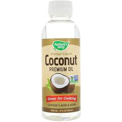 Nature's Way, 液体ココナツプレミアムオイル、 10液量オンス (300 ml)