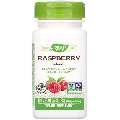 Raspberry Leaf, 900 mg, 100 Vegan Capsules