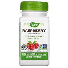Nature's Way, 樹莓葉純素食膠囊,450 毫克,100 粒裝