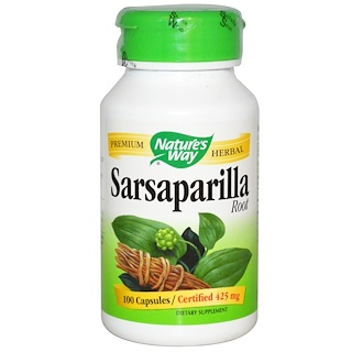 Nature's Way, Sarsaparilla, Root, 100 Capsules