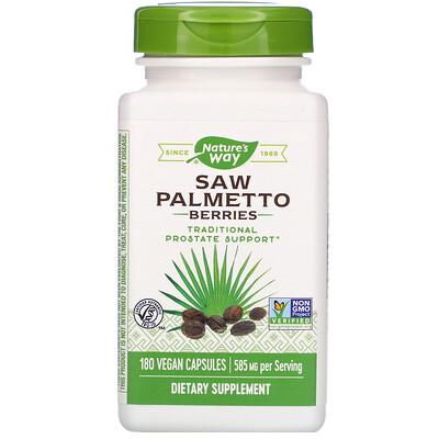 Ягоды пальмы сереноа, 585 мг, 180 вегетарианских капсул экстракт пальмы сереноа мужское здоровье 320 мг 90 растительных капсул