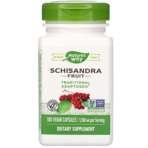 Натурес Вэй, Schisandra Fruit, 1,160 mg, 100 Vegan Capsules отзывы