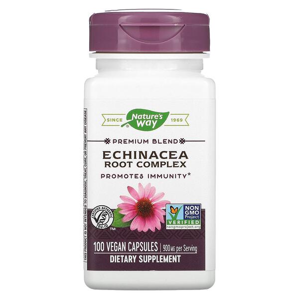 Premium Blend, Echinacea Root Complex, 450 mg, 100 Vegan Capsules