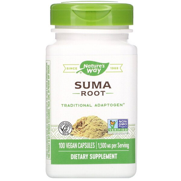 Suma Root, 1,500 mg, 100 Vegan Capsules