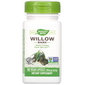 Натурес Вэй, Willow Bark, 800 mg, 100 Vegan Capsules отзывы