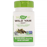 Отзывы о Nature's Way, Wild Yam Root, 850 mg, 100 Vegan Capsules