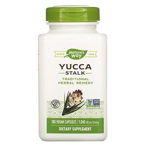Натурес Вэй, Yucca Stalk, 1,040 mg, 180 Vegan Capsules отзывы покупателей