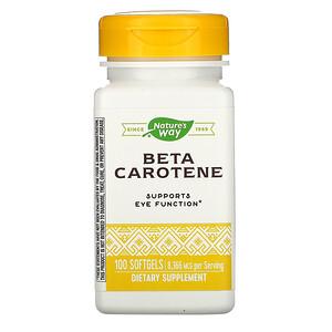 Натурес Вэй, Beta Carotene, 8,336 mcg, 100 Softgels отзывы