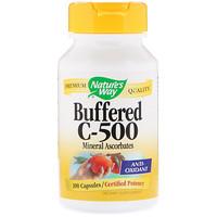 Буферизованный витамин C -500, 100 капсул - фото