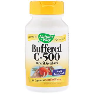 Nature's Way, Buffered C-500, 100 캡슐