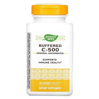 Nature's Way, Buffered C-500, 500 mg, 250 Capsules