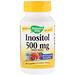 Инозитол, один раз в день, 500 мг, 100 капсул - изображение