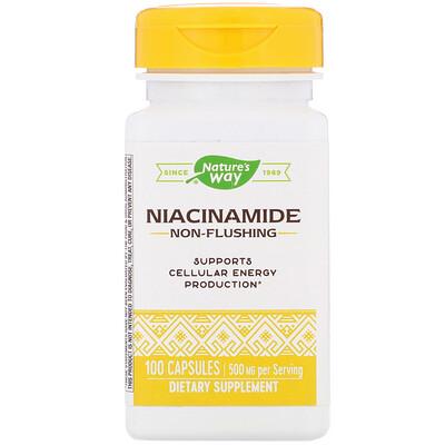 Никотинамид, 500 мг, 100 капсул недорого