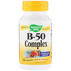 Nature's Way, B-50 Complex with B2 Coenzyme, 100 Capsules