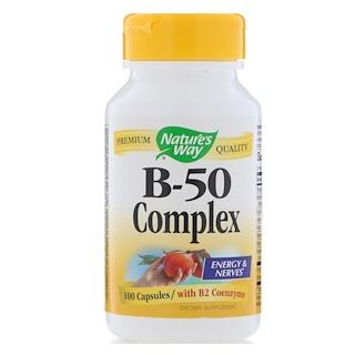 Nature's Way, B-50 Complex, 100 Capsules