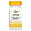 Nature's Way, B-100 Complex with B2 Coenzyme, 60 Capsules