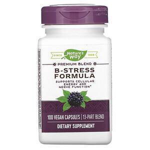 Натурес Вэй, B-Stress Formula, 100 Vegan Capsules отзывы покупателей