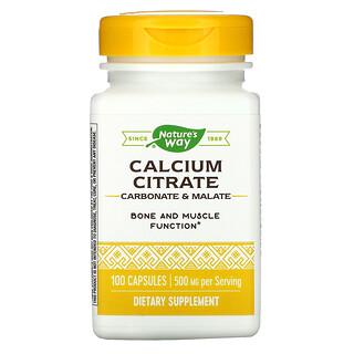 Nature's Way, Calcium Citrate, 250 mg, 100 Capsules