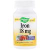 Nature's Way, Iron, 18 mg, 100 Capsules