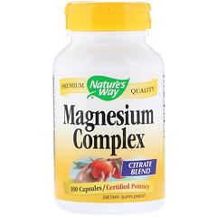 Nature's Way, 마그네슘 복합물, 100 캡슐
