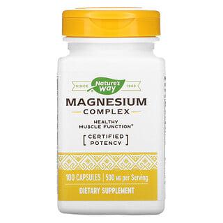 Nature's Way, Magnesium Complex, Magnesium-Komplex, 250mg, 100Kapseln