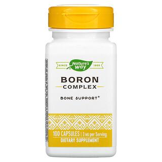 Nature's Way, Boron Complex, 3 mg, 100 Capsules