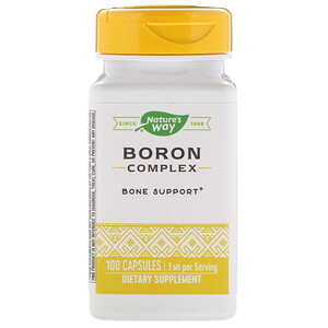 Натурес Вэй, Boron Complex, 3 mg, 100 Capsules отзывы покупателей