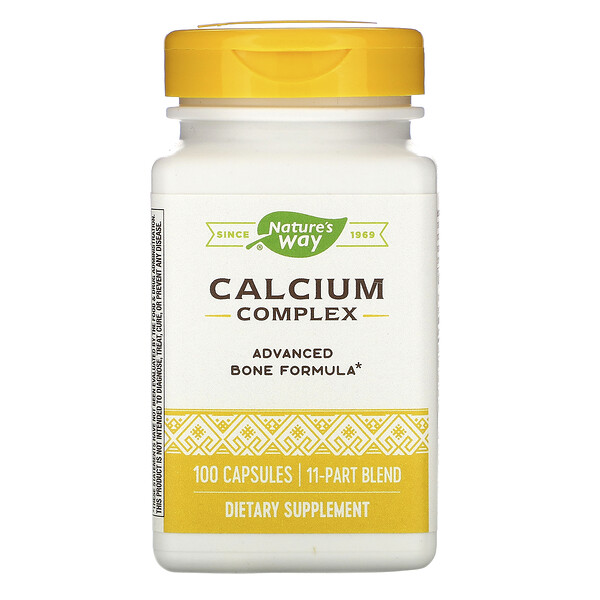 Nature's Way, Calcium Complex, 100 Capsules (Discontinued Item)