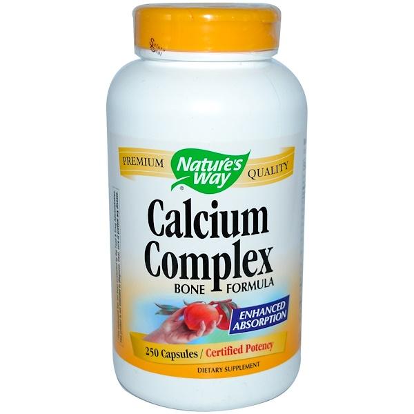Nature's Way, Calcium Complex, Bone Formula, 250 Capsules (Discontinued Item)