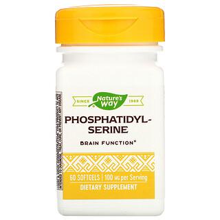 Nature's Way, Phosphatidylserin, 100mg, 60Weichkapseln
